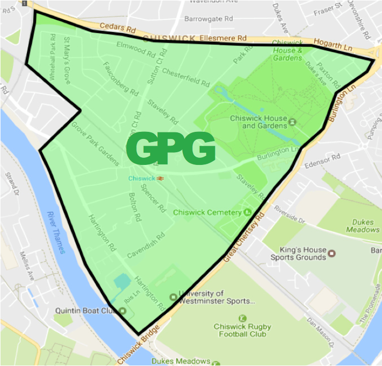 Grove Park Group map